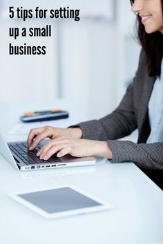 5 tips for setting up a small business