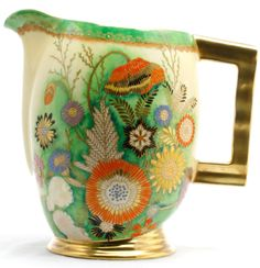 Carlton Ware Summer Flowers Vase