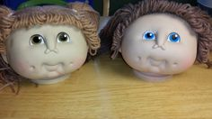 The Original Doll Baby 1984 Cabbage Patch Doll Head