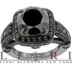 black diamonds - Click image to find more Weddings Pinterest pins. Ohh la la I want.