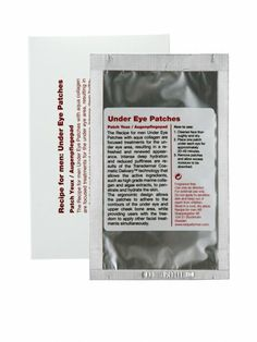 Recipe for Men - Under Eye Patches 3pcs