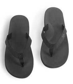 49fd4cd9c ESSNTLS Flip Flops Men Black Natural Rubber