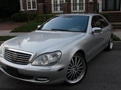 Our Mercedes Benz S 430 Family Sedan on point w different wheels!