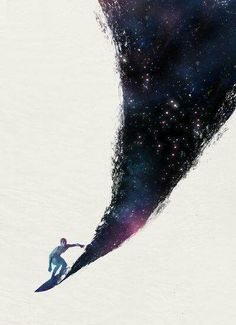 Surfing the COSMIC OCEAN waves... You too come..