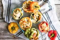 Philly Chicken Stuffed Peppers Recipe   eHow