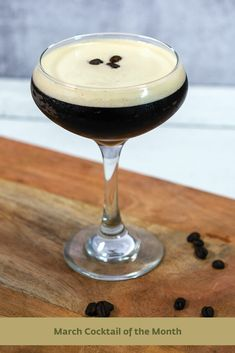 This will jump start your St. Patrick's Day celeb ration. Cocktail Recipes, Cocktails, Espresso, Irish, Toast, Tableware, Craft Cocktails, Espresso Coffee, Dinnerware