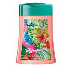 Let yourself be carried away by the solar and sensual freshness of this Retropical Hair & Body Wash. Enriched with Organic Cornflower Water and with a neutral pH, this 2 in 1 formula gently cleanses you body and hair. Yves Rocher, Mascara, Cleanse Your Body, Fiji Water Bottle, Summer Beauty, Hair Shampoo, Shower Gel, Body Wash, Make Up