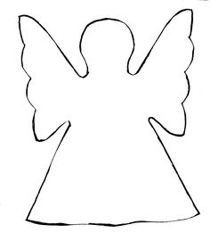 Easy Cut Out Paper Angels | christmas-angel-clip-art-Christmas-Angel-Clipart-8.jpg