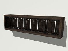 ikea wine bottle holder pint glasses extra wall. Black Bedroom Furniture Sets. Home Design Ideas
