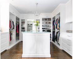 Truly a walk-in closet dream! #pattersoncustomhomes #thenewstandard  Architect: @brandonarchitects Design: @churchill_design Photo: @ryangarvin