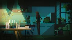 I co-directed (with Deni Dimovski) a series of funny spots for Ikea on their lighting solutions, each one covering a bad lighting situation and its unfortunate outcome. All animation was done by me and my partner in crime Ricardo Drehmer with the visuals provided by James Gilleard.  Credits:  Client: Ikea Producer: Deni Dimovski Direction: Deni Dimovski / Thiago Steka Illustration: James Gilleard Storyboarding: Thiago Steka / Ricardo Drehmer Animation: Thiago Steka / Ricardo Drehme...