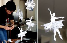 Unique Paper Snow Flakes | Christmas and New Year Home Decor - Making Snowflakes - Snowflake ...
