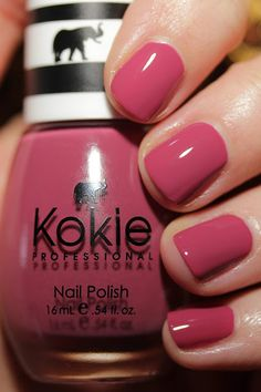 Kokie Cosmetics nail polish Photo Op swatch by Streets Ahead Style Kokie Cosmetics, Nail Polish Blog, Sally Beauty, Professional Nails, Beauty Review, Swatch, Style, Stylus, Outfits