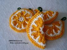 オレンジのエコたわし♪の作り方|編み物|編み物・手芸・ソーイング | アトリエ