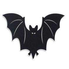 Felt Bat Placemat in Black - BedBathandBeyond.com