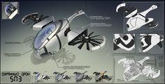 Sentinel drone SN3 by TurboSolovey.deviantart.com on @deviantART