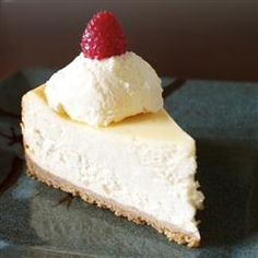 Chantal's New York Cheesecake:  aka Jesse's Cheesecake  :)