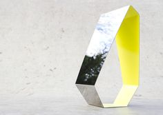 Mirror made of stainless steel