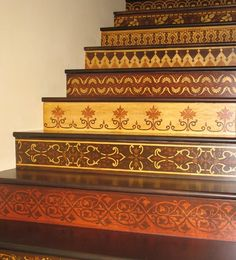diy projects for painting stairs - Indian Home Decor