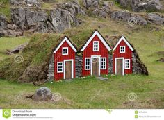 Photo about Elf decorative small home imitation seen everywhere in Iceland. Image of mossy, historical, exterior - 30764294 Iceland Elves, Unusual Homes, The Elf, Little Houses, House Painting, Bird Houses, Natural, Exterior, Stock Photos