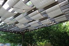 DIY Patios pergola On a Budget | Visit re-nest.com