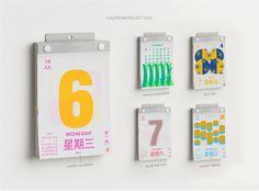 Calendar Design, Projects, Log Projects, Blue Prints