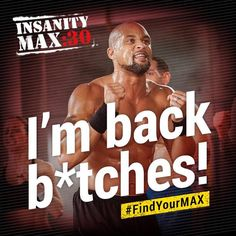 insanity max 30 - Shaun T My Fitness Muse! Fitness Motivation, Fitness Quotes, Fitness Plan, Daily Motivation, Fitness Tips, Shaun T Insanity, Beachbody Insanity, Insanity Workout, Insanity Program