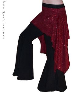 Tribal Fusion Gothic Cabaret Belly Dance by TheWildTassel, $35.00