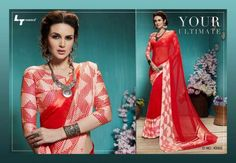 b1684a2d09 LT Fabric Glitz Vol-4 Sarees Full Wholesale Catalogue LT Fabric launched  unique collection of