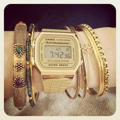 5551ae858c2 18 melhores imagens de Relógio Cássio vintage