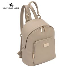 2d921691cd DAVIDJONES Women Backpacks Women s PU Leather Backpacks Female School Shoulder  bags Teenage girls college student casual