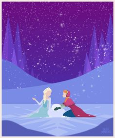 Disney Princess GIF series | Jeca Martinez | Illustration and Animation