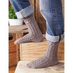XOX Socks for Him - Warming Accessories - Patterns | Yarnspirations