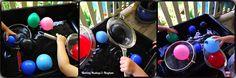 Balloon Fine Motor Fishing Fun!