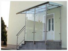 Neue Seite Verglasung an Eingangstreppe von VandV