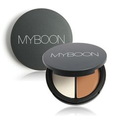 Contour Makeup, Highlight For Cheeks With Mirror. Face Compact  | eBay