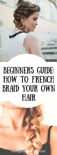 Hey ladies! So today I decided to tackle something I have never been able to learn how to do…french braid my own hair. Seriously, the struggle is real! I have tried to french braid my hair so many times and always end up just giving up! It is the one thing I ask my mom …