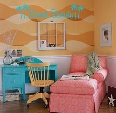Beach themed room