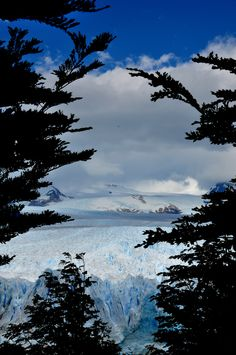 A sneak peek at the Perito Moreno Glaciar, Argentina --- Photo taken by Esmeralda Spiteri