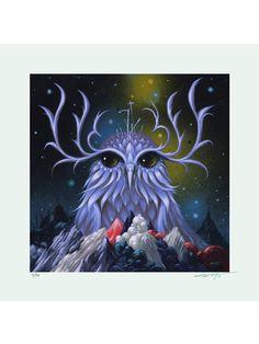 Night Dreamer Giclee Print | Stormcloudz