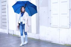 Slow Fashion Challenge   Look 13  rainy day outfit   tenue de pluie Ending my Slow Fashion Challenge with a rainy day outfit. Read all details of this look, sustainable alternative brands and tips to stay chic under the rain