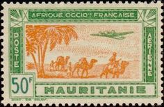 Air Stamp French West Africa