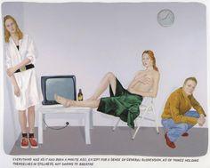 """ArtG231. Markus Muntean and Adi Rosenblum - """"Untitled"""" / Oil on canvas (2009)"""