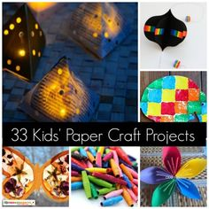 33 Kids' Paper Craft Projects
