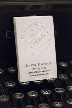 Unique Business Card, Joakim Hovrevik #BusinessCards #Design (http://www.pinterest.com/aldenchong/)
