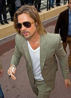 Da Cannes, Brad Pitt in ic! berlin !