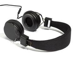 Urbanears headphones (Tech Aesthetic Black)