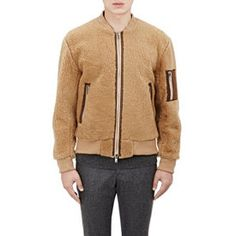 Ovadia & Sons Shearling Bomber Jacket