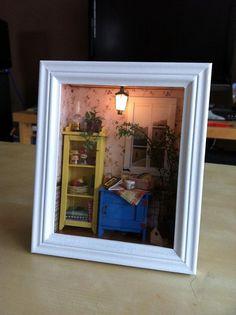 Framed Mini - Dolls Miniatures Z