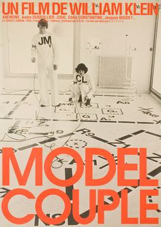 Japanese poster for THE MODEL COUPLE (William Klein France... Movie Poster of the Day